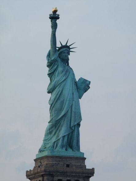 Statute de la liberté depuis le ferry - Imagine Cup 2011
