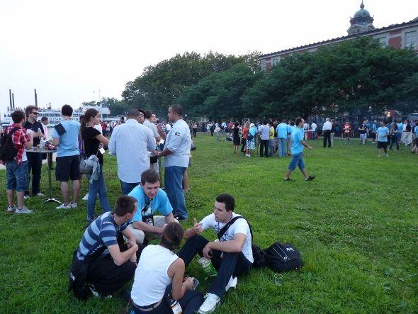 Barbecue géant sur Ellis Island - Imagine Cup 2011