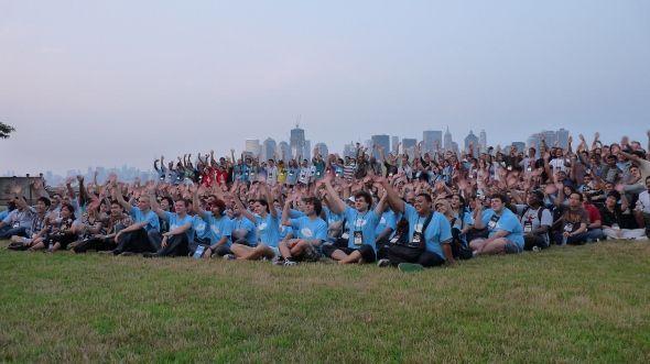 Photo de groupe des participants - Imagine Cup 2011