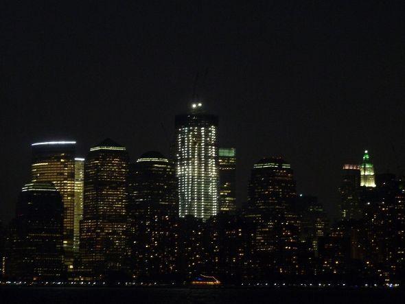 New York de nuit depuis Ellis Island - Imagine Cup 2011