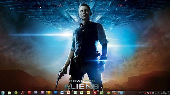 Capture d'écran - Films Paramount Pictures thème visuel pour Windows 7