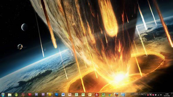 Capture d'écran - GT Graphics thème visuel pour Windows 7