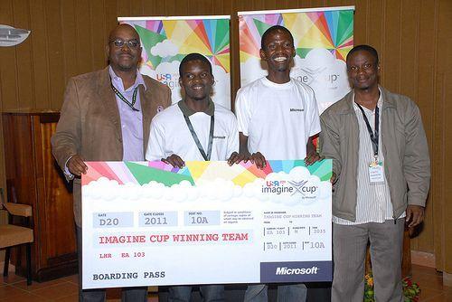 L'équipe Quest0 pour l'Imagine Cup 2011