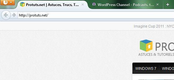 Capture d'écran - Thème Australis pour Mozilla Firefox