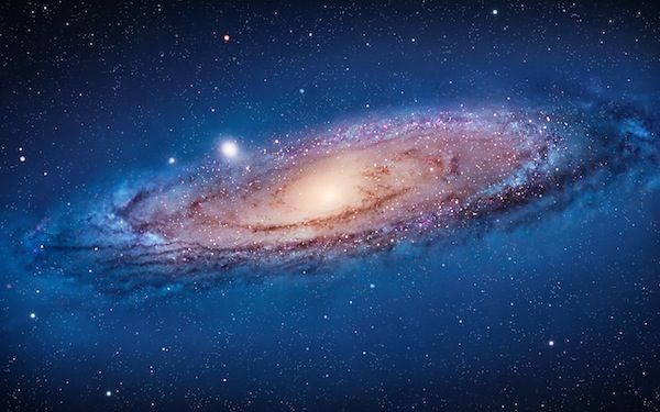 Andromeda Galaxy - Apple Wallpaper