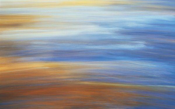 Evening Reflections - Apple Wallpaper