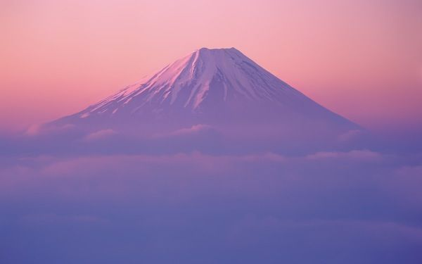Mt. Fuji - Apple Wallpaper