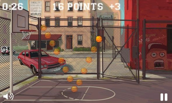 Capture d'écran - Free Throws pour Windows Phone