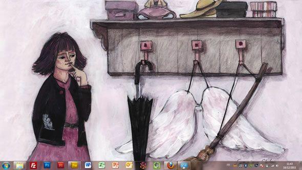 Capture d'écran - Espoirs et rêves, thème visuel officiel Windows 7