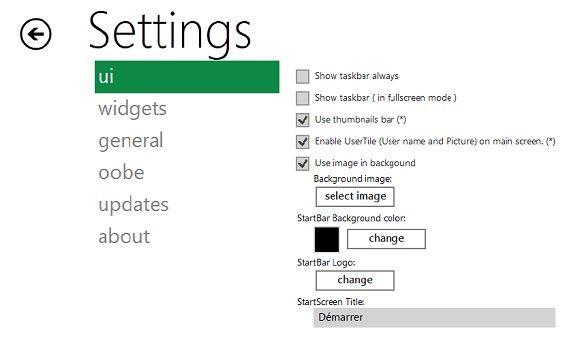 Capture d'écran - Configuration de Newgen