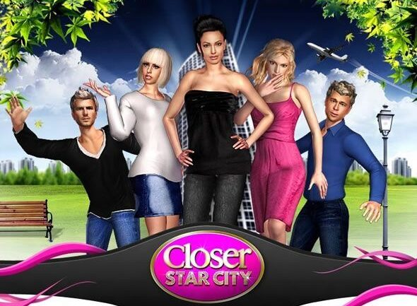 Capture d'écran de Closer Star City, jeu Facebook