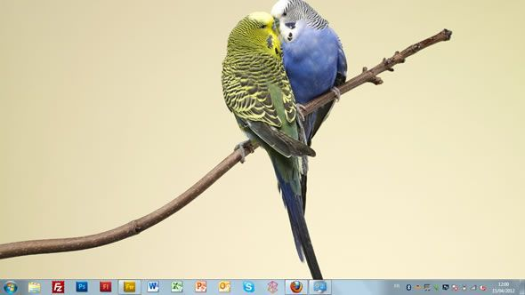 Capture d'écran -Affectation animale, thème visuel officiel Windows 7