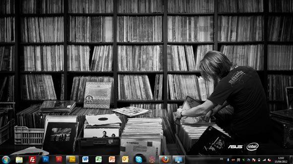 Capture d'écran - Asus et Intel, rechercher l'exceptionnel, thème visuel officiel Windows 7
