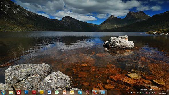 Capture d'écran - Littoral Australien, thème visuel officiel Windows 7