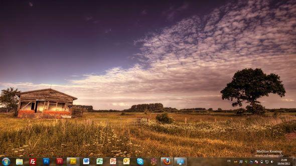 Capture d'écran - Schleswig Holstein, thème visuel officiel Windows 7