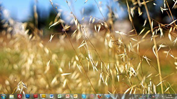Capture d'écran - Terre, thème visuel officiel Windows 7