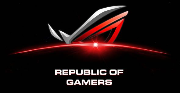 Logo ROG - Republic of Gamers, par Asus