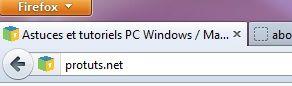 Capture d'écran - Les onglets sont repassés en dessous du menu Firefox