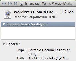 Capture d'écran - Restauration de l'icône par défaut