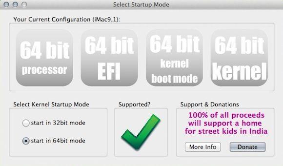 Capture d'écran - Kernel Startup Mode Selector