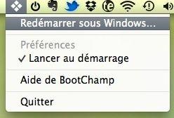 Capture d'écran - Utilitaire Boot Champ
