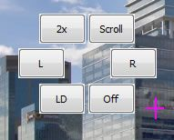 Capture d'écran - Menu contextuel de NPointer