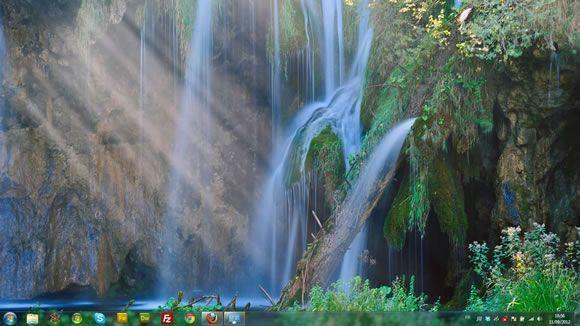Capture d'écran - Eau, thème visuel officiel Windows 7