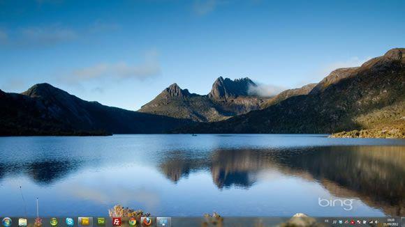 Capture d'écran - Le meilleur de Bing : Autralie 3, thème visuel officiel Windows 7