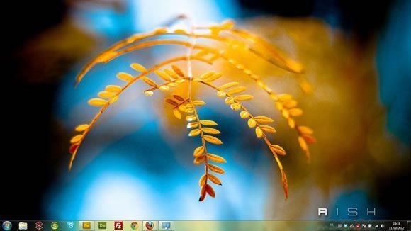 Capture d'écran - Instants volés, thème visuel officiel Windows 7