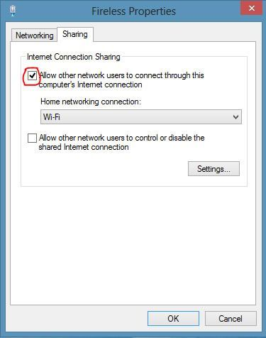 Cr er une connexion sans fil ad hoc internet sous windows for Ouvrir fenetre plein ecran windows 7