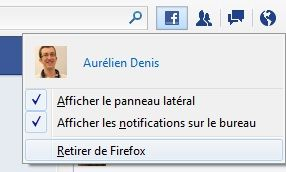 Capture d'écran - Facebook Messenger