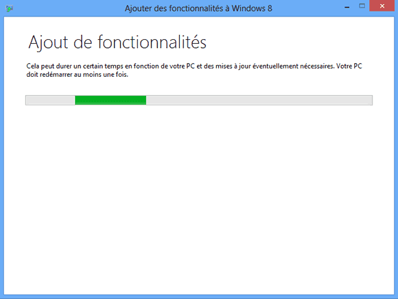 Ajout du Windows Media Center pour Windows 8