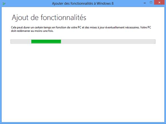 Ajout du Windows Media Center pour Windows 8
