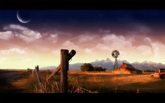 Fond d'écran - Farmland