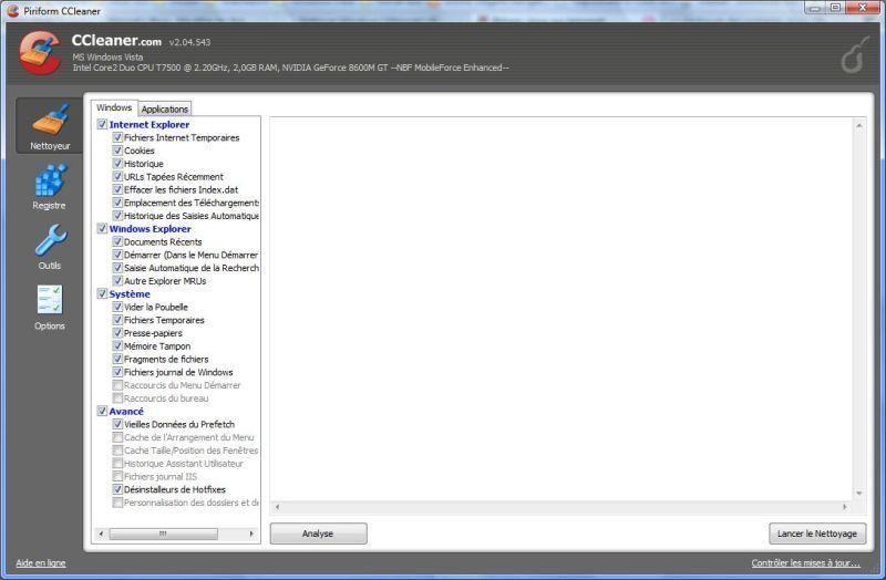 Nettoyer windows en profondeur avec ccleaner et l 39 outil de - Windows office gratuit pour windows 8 ...