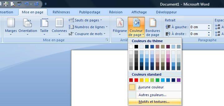 ins u00e9rer une image en arri u00e8re-plan sur une ou plusieurs pages dans word 2007