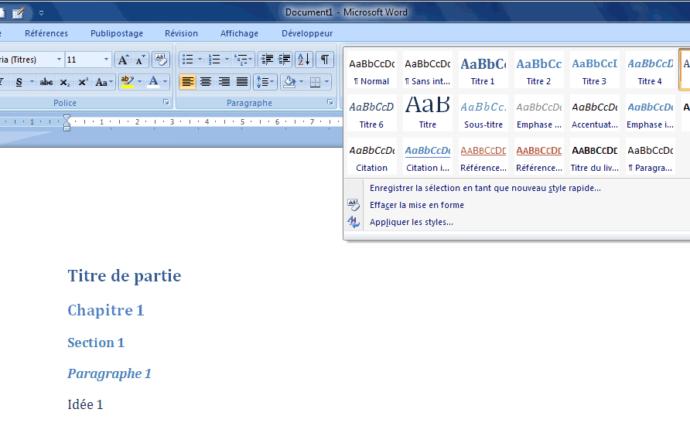 word 2007 enregistrer en pdf