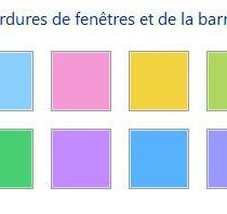 Changer la couleur des bordures de fen tres et de la barre for Fenetre windows 8
