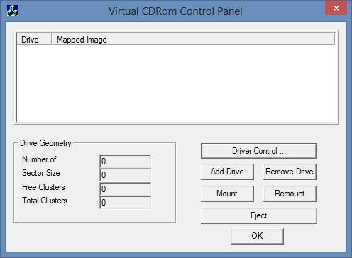 Capture d'écran - Virtul CD Tool, fenêtre principale