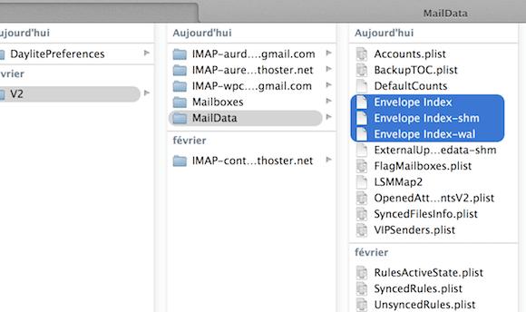 Capture d'écran - Correction bug de drapeaux sous Mail