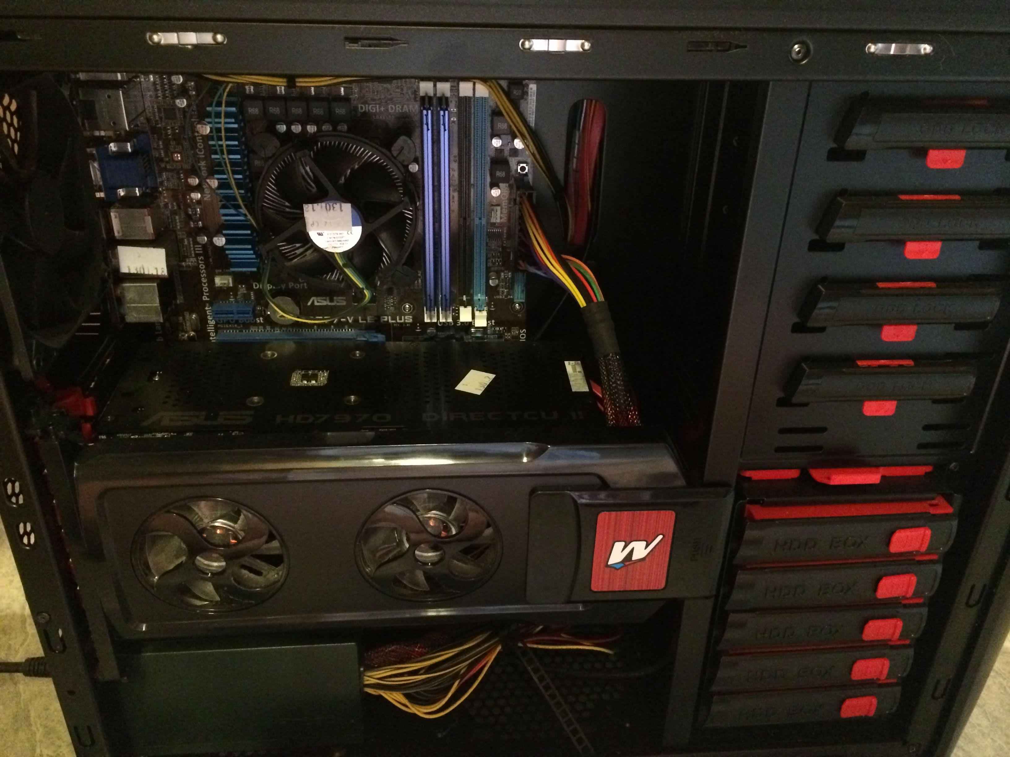 Intérieur du PC