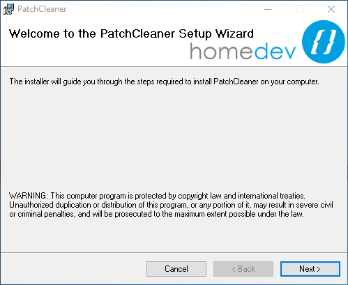 windows patch cleaner