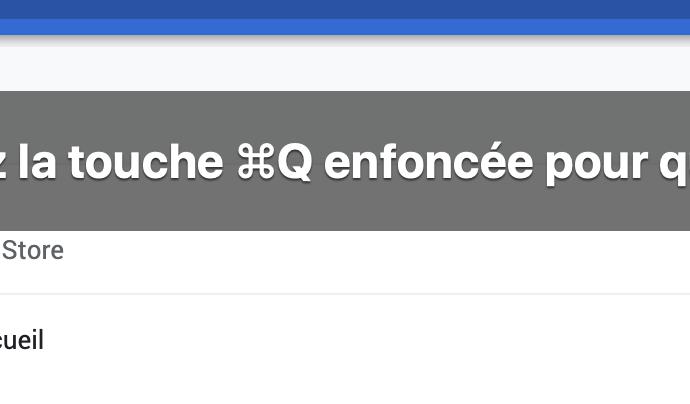 Capture d'écran - Confirmation de fermeture de Google Chrome