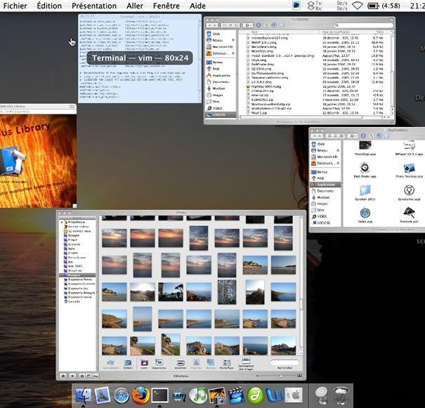 Capture d'écran - Expose sur Mac OS X [nemako.net]
