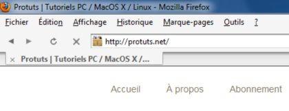 Capture d'écran - Thème Firefox, Strata 4.0 pour Mac