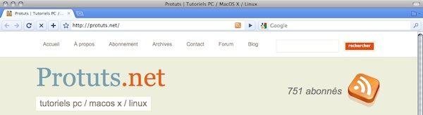 Capture d'écran - Thème Firefox, Chromifox Extreme 3