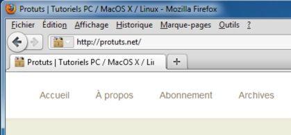 Capture d'écran - Thème Firefox, Strata40 pour Windows