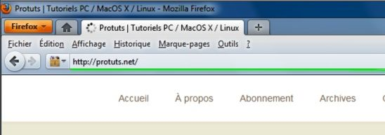 Capture d'écran - Thème Firefox, Fx4