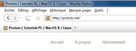 Capture d'écran - Thème Firefox, Purity