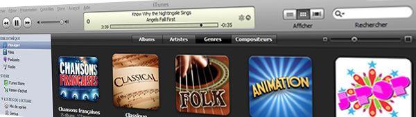 Capture décran - iTunes 2008
